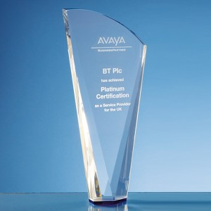 Optical Crystal Facet Shard Award